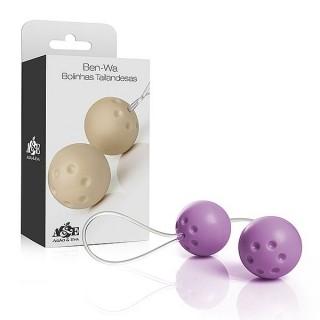 Ben-Wa 2 Bolinhas para Pompoar Lilás