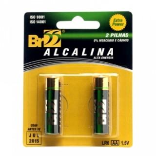 Pilha Alcalina BR55 AA