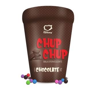 Bala Efervescente Chup Chup Chocolate Sexy Imagination