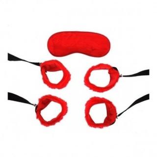 Kit Bondage Vermelho