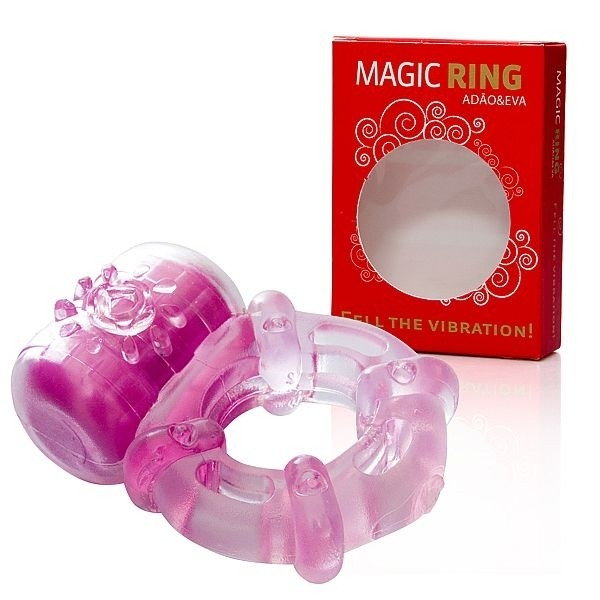 Anel Peniano Screeming Big com Vibro de silicone