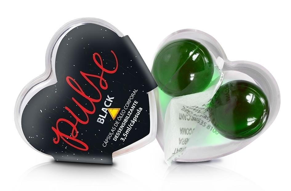 Dessensibilizante Pulse Black Gel Anal