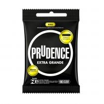 Preservativo Prudence Extra Grande - 03 Unidades