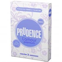 Preservativo Feminino Prudence L'amour Premium - 2 Unidades