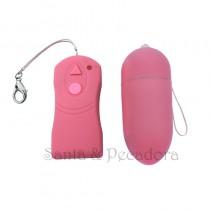 Wireless Bullet Capsula sem fio rosa