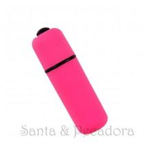Mini Vibrador Bullet Rosa Pink à Prova D'Água