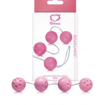 Conjunto 4 Bolas de Pompoar Rosa Pink