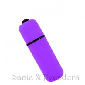 Mini Vibrador Bullet Lilás -  à Prova D'Água