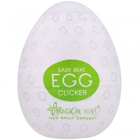 Masturbador Masculino Egg Clicker Magical Kiss