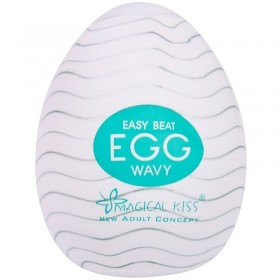 Masturbador Masculino Egg Wavy Magical Kiss