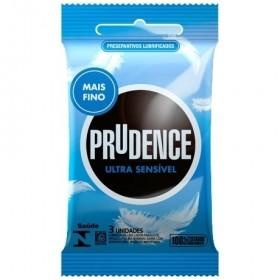 Preservativo Prudence Ultra Sensível - 03 Unidades