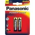 Pilha Panasonic Power Alkaline AA 2 unidades