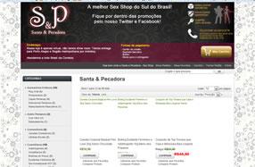 Logo Sexshop Santa & Pecadora